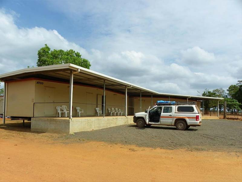 Bramwell Station Tourist Park accommodation cabins in Cape York