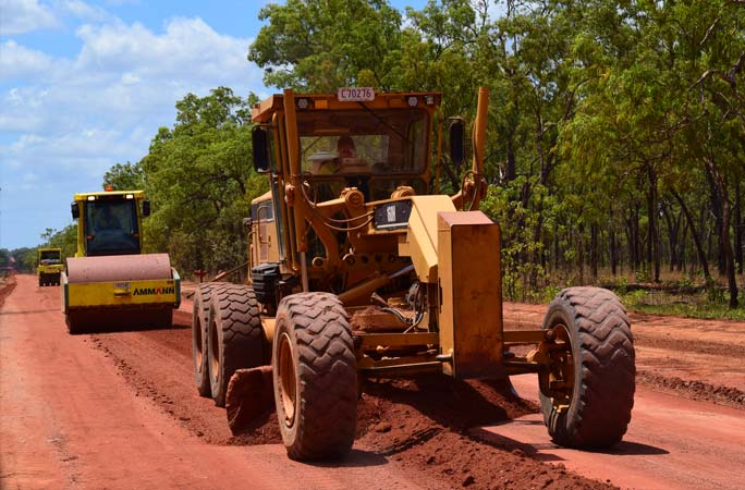 Roadworks & Earthmoving Machinery in Cape York